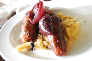 Sausages with Parsnip Mash - 20 minute meals for men with psoriasis