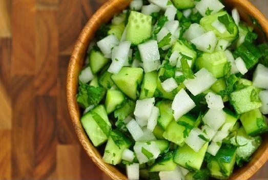 Nightshade Free Cucumber Radish Salsa Recipe