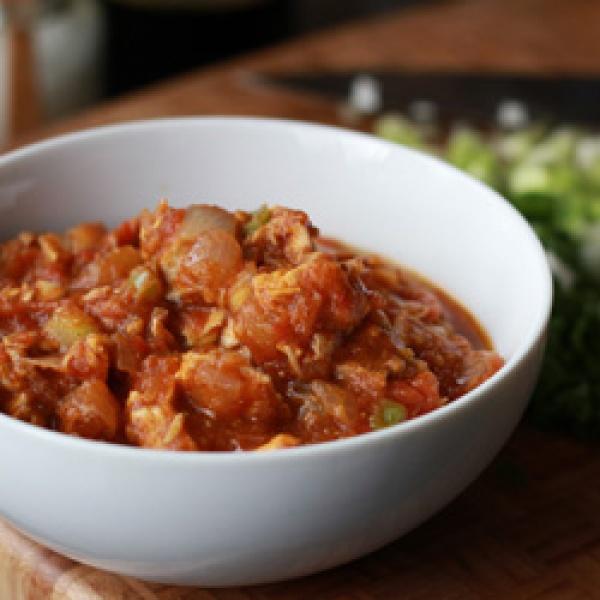 Nightshade free turkey chili recipe