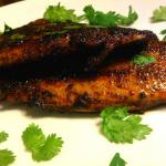 nightshade free blackened tilapia