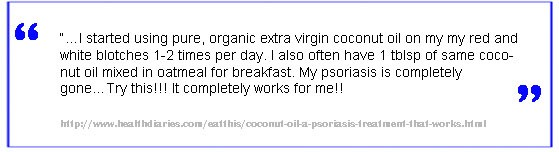 coconut oil for psoriasis 3