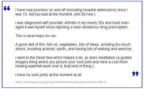 Psoriasis Stress