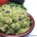 nightshade free black bean guacamole