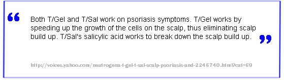 t-sal psoriasis treatment