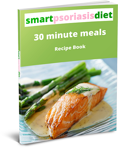 smart psoriasis diet book cover
