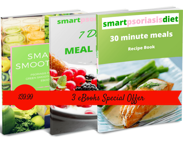 Special offer 3 ebooks smart psoriasis diet smart psoriasis ebooks special offer fandeluxe Gallery